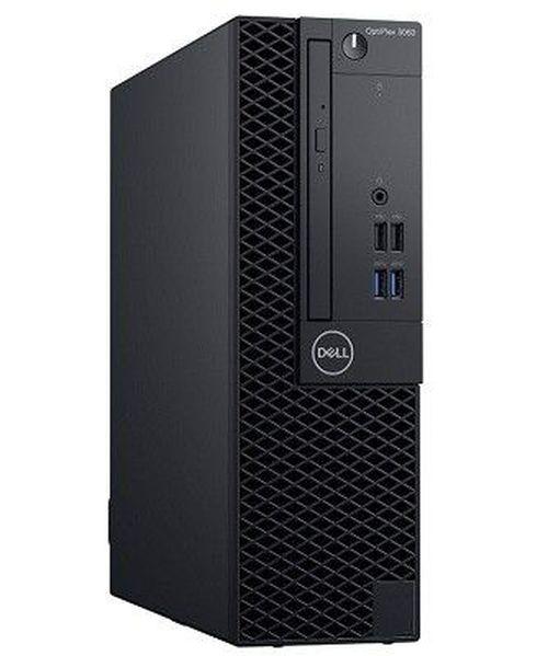 купить DELL OptiPlex 3060 SFF lnteI® Core® i3-8100 (Quad Core, 3.60GHz, 6MB), 8GB DDR4 RAM,1TB HDD, DVD-RW, lnteI® UHD630 Graphics, TPM, 200W PSU, USB mouse, USB KB216-B, Ubuntu, Black в Кишинёве
