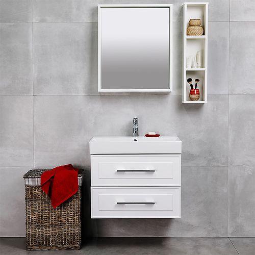 cumpără Oglindă Porto albă structurată 600 în Chișinău