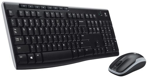 cumpără Keyboard & Mouse Logitech Wireless Combo MK270, Multimedia, USB, Retail în Chișinău