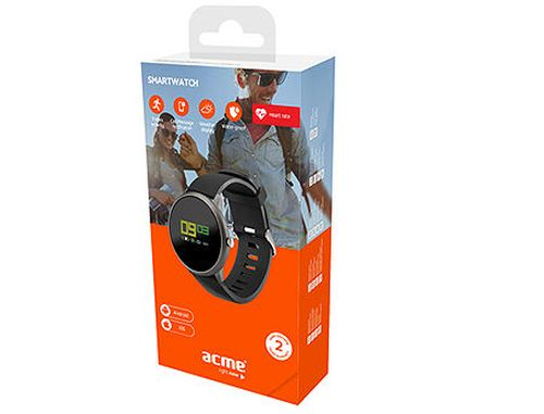 "купить Acme SW101 Smartwatch, 0.95"" TFT Color Display, Li-ion, Accelerometer, Pedometer, Hear Rate monitor, Touch Screen, Water-resistant IP68, Bluetooth 4.0 www в Кишинёве"