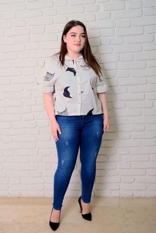 купить Блузка Simona ID 9652 в Кишинёве