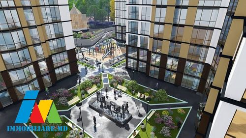 Exfactor!Apartamente cu o cameră,cu două şi cu trei la pret de 620€ /m2!