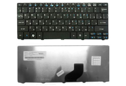 купить Keyboard Acer Aspire One 532 532H 521 533 D255 D260 D257 D260 D270 HAPPY HAPPY2 Gateway Mini LT21 LT32 eMachines 350 355 PackardBell Dot SE SE2 SE3 ENG/RU Black в Кишинёве
