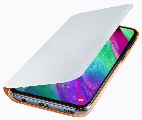 cumpără Husă telefon Samsung EF-WA405 Wallet Cover A40 White în Chișinău