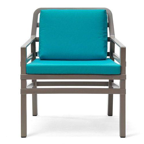 купить Кресло с подушками Nardi ARIA TORTORA sardinia 40330.10.072.072 (Кресло с подушками для сада и терас) в Кишинёве