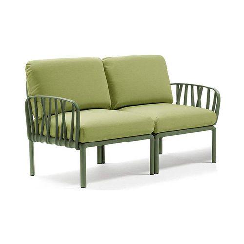 купить Диван с подушками Nardi KOMODO 2 POSTI AGAVE-avocado Sunbrella (Диван с подушками для сада и терас) в Кишинёве