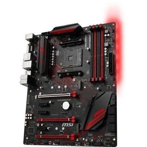 купить MSI X470 GAMING PLUS, Socket AM4, AMD X470, Dual 4xDDR4-3466, APU AMD graphics, DVI, HDMI, 3xPCIe X16, 6xSATA3, RAID, 2xM.2 slot, 3xPCIe X1, ALC892 7.1ch HDA, GbE LAN, 2xUSB3.1 Gen 2, 8xUSB3.1, RGB Mystic Light, ATX в Кишинёве