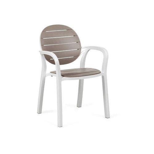 купить Кресло Nardi PALMA BIANCO-TORTORA 40237.00.010 (Кресло для сада и террасы) в Кишинёве