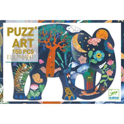 """cumpără Puzzle artistic """"Elefant"""" DJECO în Chișinău"""