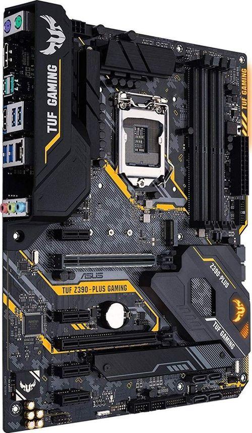 купить ASUS TUF Z390-PLUS GAMING, Socket 1151, Intel® Z390 (9th/8th Gen CPU), Dual 4xDDR4-4266, 2xPCIe X16, CPU Intel graphics, HDMI, DP, 6xSATA3, 4xPCIe1, RAID, 2xM.2, S1200A HDA, GbE LAN, 2xUSB3.1 Gen 2, 6xUSB3.1, AURA Sync, TUF components, 24/7, ATX в Кишинёве