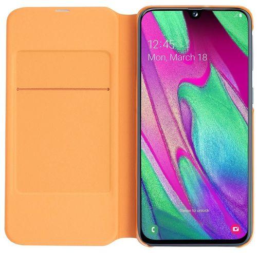 купить Чехол для моб.устройства Samsung EF-WA405 Wallet Cover A40 White в Кишинёве