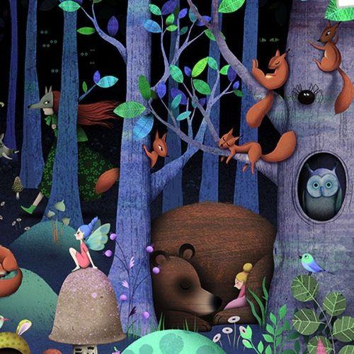 """купить Пазл и игра на наблюдательность """"Зачарованный лес"""" DJECO в Кишинёве"""