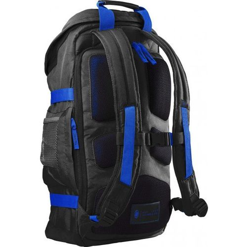 "cumpără HP NB Backpack 15.6"" - Odyssey Backpack,Contoured and punctuated with distinctive contrasting external colors, trend-forward design unveils a unique digitized camouflage lining, providing a tactically modern appeal with fashionable durab., Black/Blue în Chișinău"