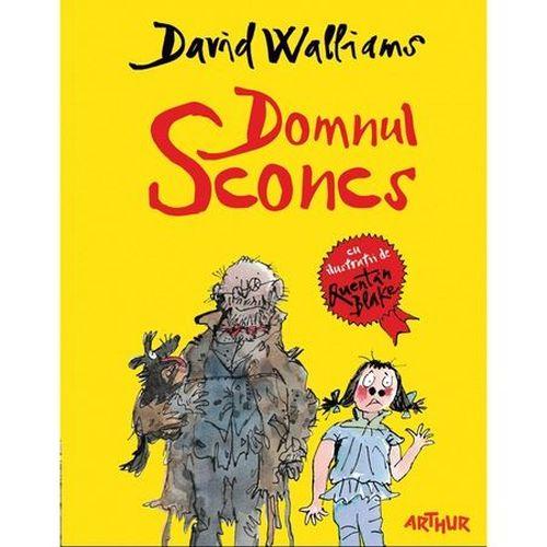 купить Domnul Sconcs - David Walliams в Кишинёве