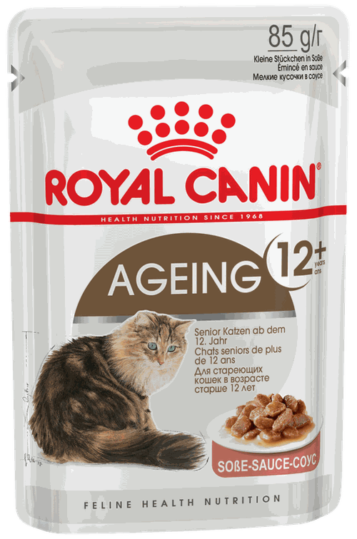 купить Royal Canin AGEING +12 (В СОУСЕ) 85 gr в Кишинёве