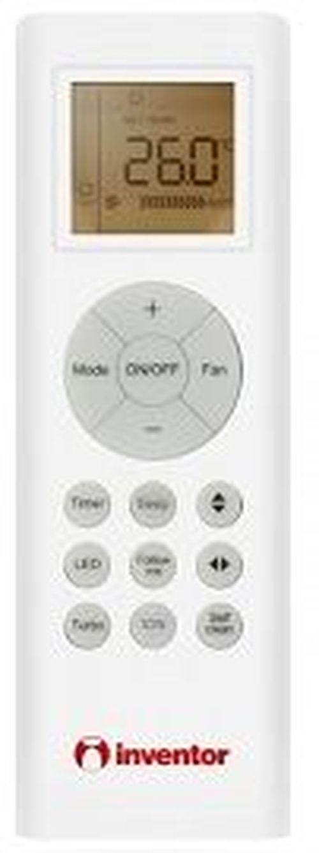 купить Кассетный инверторный кондиционер Inventor V5MCI50-32/U5MRT50 48000 BTU в Кишинёве