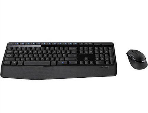 купить Logitech MK345 Black Wireless Combo, Keyboard + Mouse, 2.4 GHz RF, 920-008534 (set fara fir tastatura+mouse/беспроводной комплект клавиатура+мышь) в Кишинёве