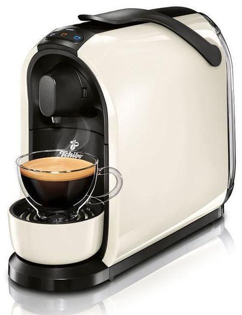 cumpără Automat de cafea cu capsule Tchibo Cafissimo Pure White + Cadou Cappucinator în Chișinău