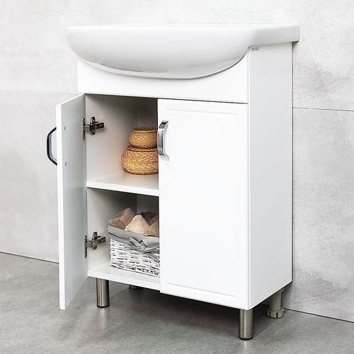 купить Lagos шкаф белый под умывальник Arteco 550 в Кишинёве