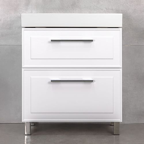 купить Porto Шкаф белый структурный под умывальник Stance 700 в Кишинёве