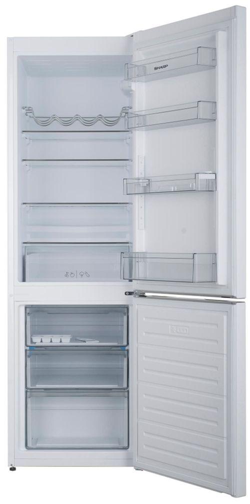 cumpără Frigider cu congelator jos Sharp SJBB04DTXW1 în Chișinău