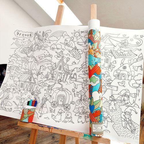 cumpără PicTub - Poster de colorat pentru copii 3+ în Chișinău