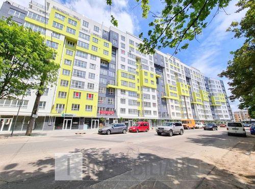 Apartament cu 3 camere+living, sect. Buiucani, str. Liviu Deleanu.
