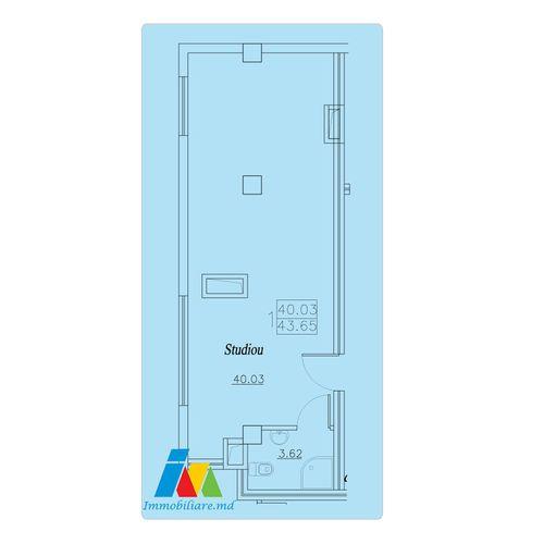 Apartament 1 cameră, sectorul Telecentru.