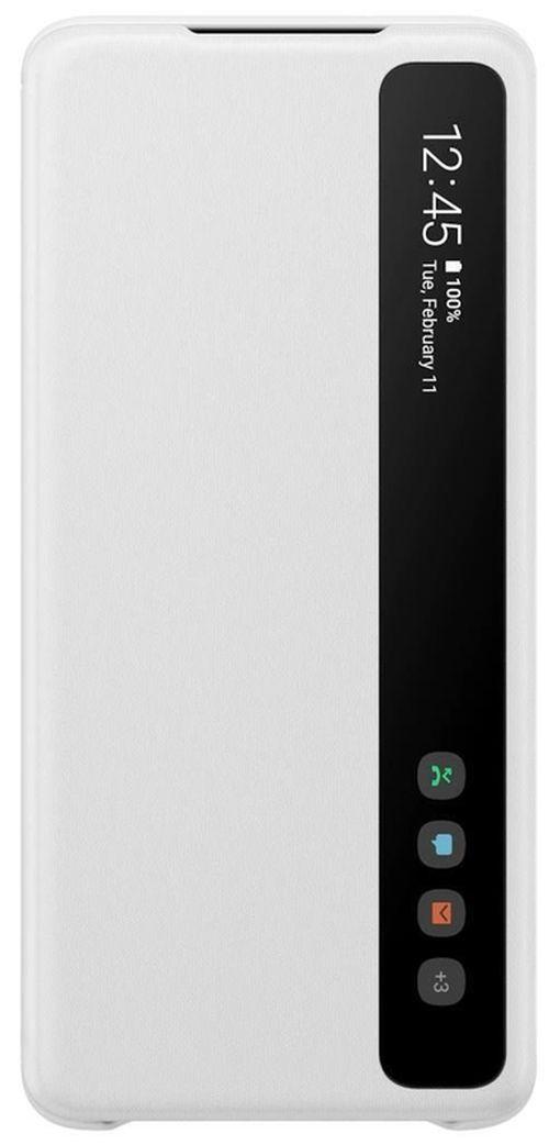 купить Чехол для моб.устройства Samsung EF-ZG985 Clear View Cover White в Кишинёве
