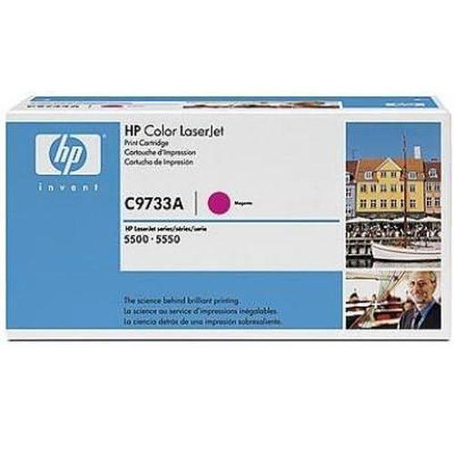 cumpără HP Color LaserJet 5500/5500N/ 5500DN/5550/5550N/5550DN Smart Print Cartridge, Magenta C9733A în Chișinău