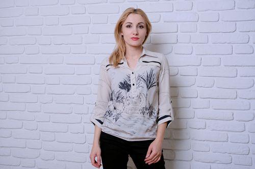 купить Блузка Simona ID 9514 в Кишинёве