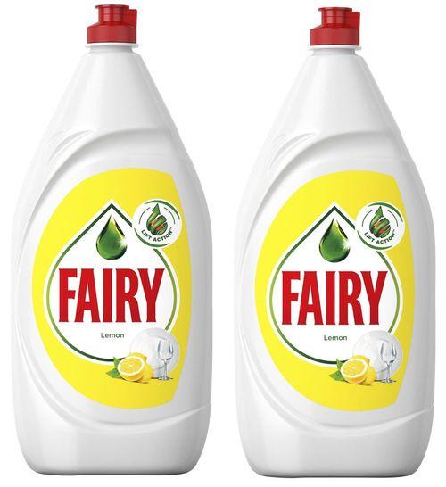 купить Средство для мытья посуды Fairy 4771 LEMON 2X800ML в Кишинёве