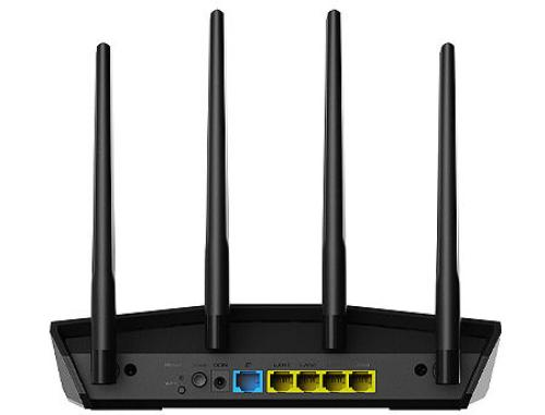 купить ASUS RT-AX55, AX1800 Dual Band WiFi 6 (802.11ax) Gigabit Router, dual-band 2.4GHz/5GHz at up to super-fast 1800Mbps, AiMesh WiFi, WAN:1xRJ45 LAN: 4xRJ45 10/100/1000 (router wireless WiFi/беспроводной WiFi роутер) в Кишинёве