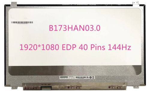 "купить Display 17.3"" LED IPS Slim 40 pins Full HD (1920x1080) 144Hz Socket Left-Side Brackets Up-Down Matte B173HAN03.0 AUO в Кишинёве"