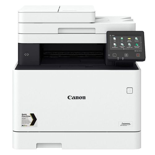 купить MFD Canon i-Sensys MF744Cdw (3101C032AA), Color Printer/Copier/Scanner/Fax, 2-sided ADF(50p), Duplex, USB, Network, WiFi, NFC, Touch LCD 12.7cm, Print A4 27ppm, Print 1200x1200dpi, Scan 9600x9600dpi, 250p tray, 4-50k ppm, Cart 055(H)Bk+055(H)C/M/Y в Кишинёве