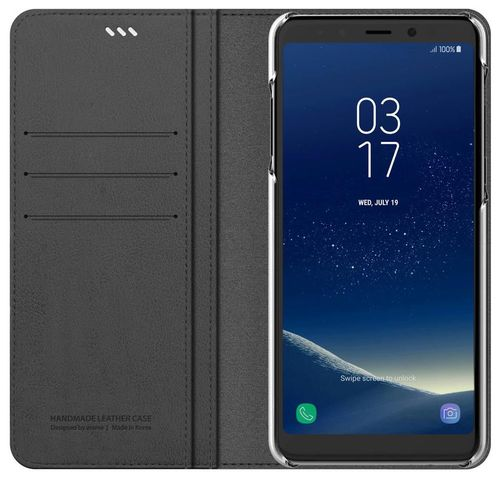 cumpără Husă telefon Samsung GP-A530, Galaxy A8 2018, Araree Mustang Diary, Gray în Chișinău