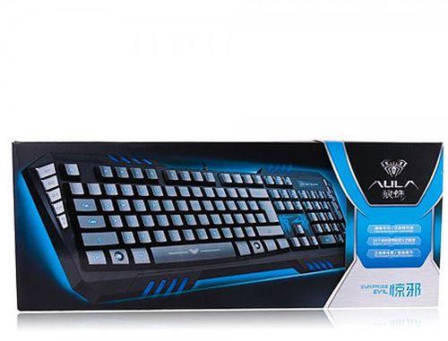 купить Клавиатура AULA Surprise Evil Gaming Keyboard, USB, gamer (tastatura/клавиатура) в Кишинёве