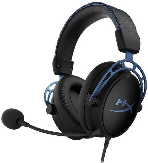 cumpără Cască cu microfon HyperX HX-HSCAS-BL/WW, Cloud Alpha S, Black/Blue în Chișinău