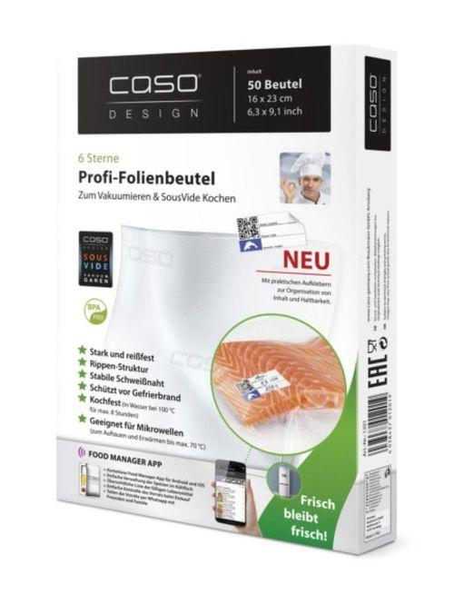купить Вакуумный пакет Caso 01201 Set 16x23сm, 50pcs в Кишинёве