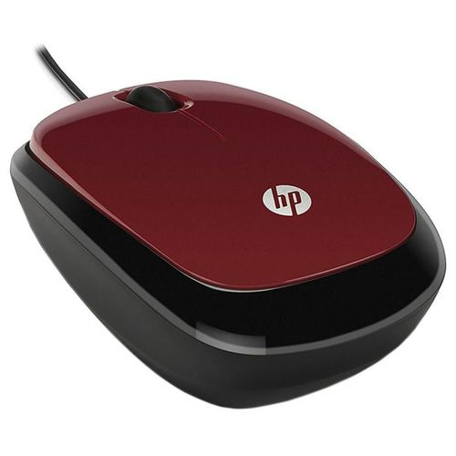 купить HP X1200 Wired Red Mouse в Кишинёве