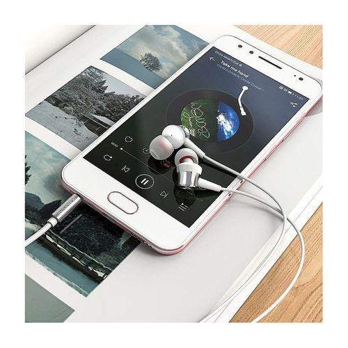 купить Borofone BM52 silver (728920) Revering wired earphones with microphone, Speaker outer diameter 9MM, cable length 1.2m, Microphone в Кишинёве