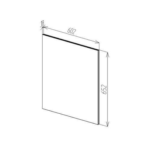 купить Modern Зеркало О 600x650 в Кишинёве
