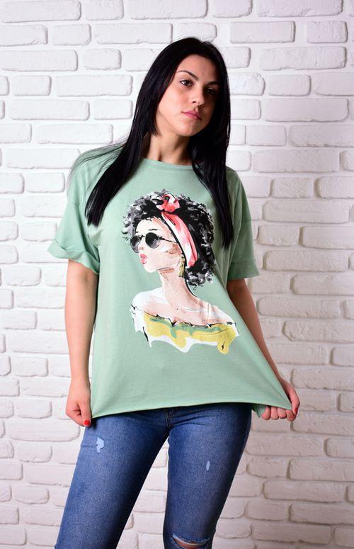 купить Женская футболка Simona ID 4049 в Кишинёве