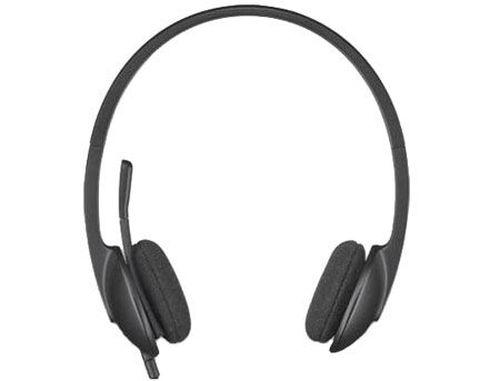 купить Logitech H340 Black USB Headset, Headset: 20Hz-20kHz, Microphone: 100Hz-10kHz, 1.8m cable, 981-000475 (casti cu microfon/наушники с микрофоном) в Кишинёве