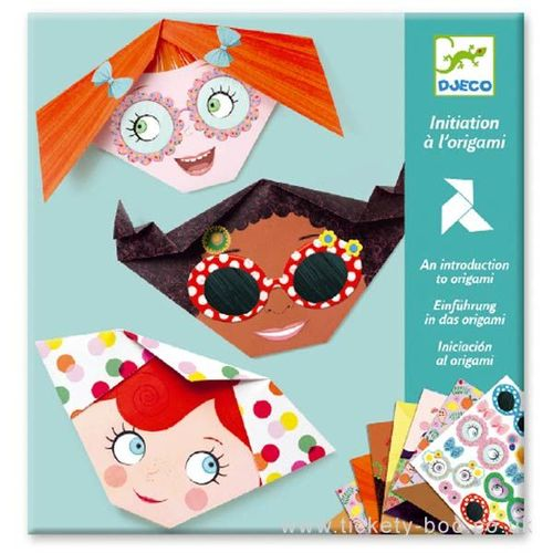 купить Pretty Faces Origami - Design By from Djeco в Кишинёве