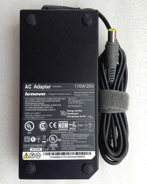 cumpără AC Adapter Charger For Lenovo 20V-8.5A (170W) Round DC Jack 7.9*5.5mm w/pin inside  Original în Chișinău