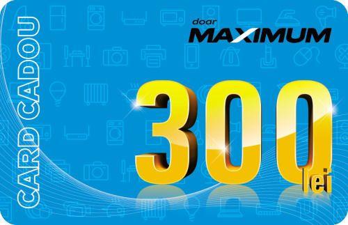 cumpără Certificat - cadou Maximum Карта подарочная 300 лей în Chișinău