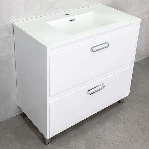 купить Шкаф Montana белый под умывальник Allegro 900 в Кишинёве
