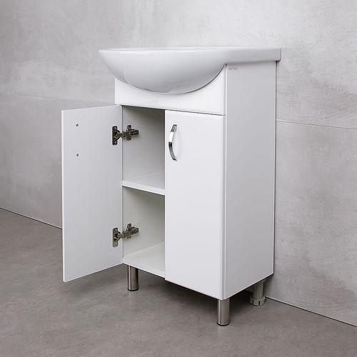 купить Bris Шкаф белый под умывальник Ladoga 500 в Кишинёве