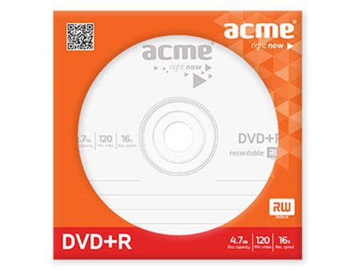 купить ACME DVD+R 4,7 GB 16X paper envelope в Кишинёве